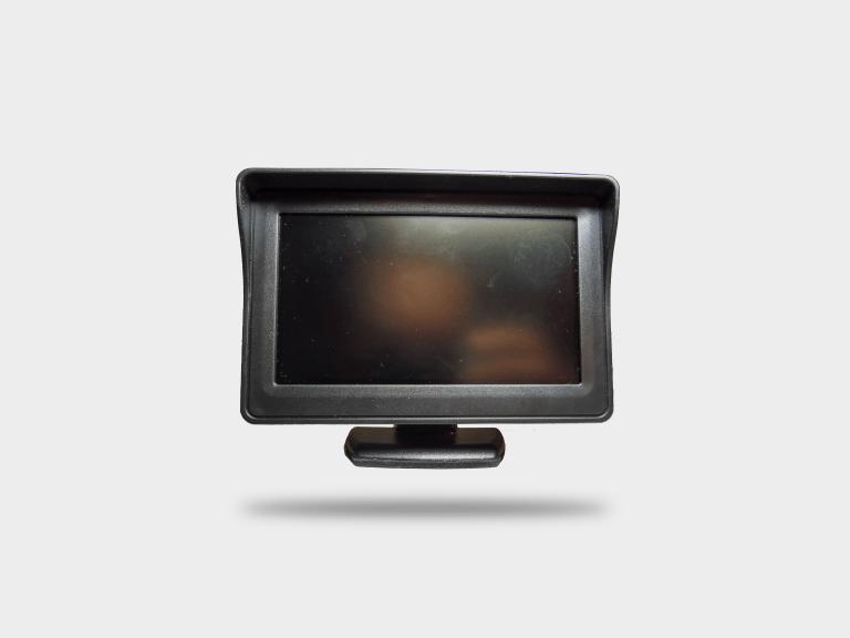 """4.3"""" LCD monitor"""