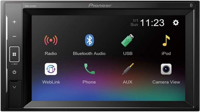 Pioneer DMH-A240BT front